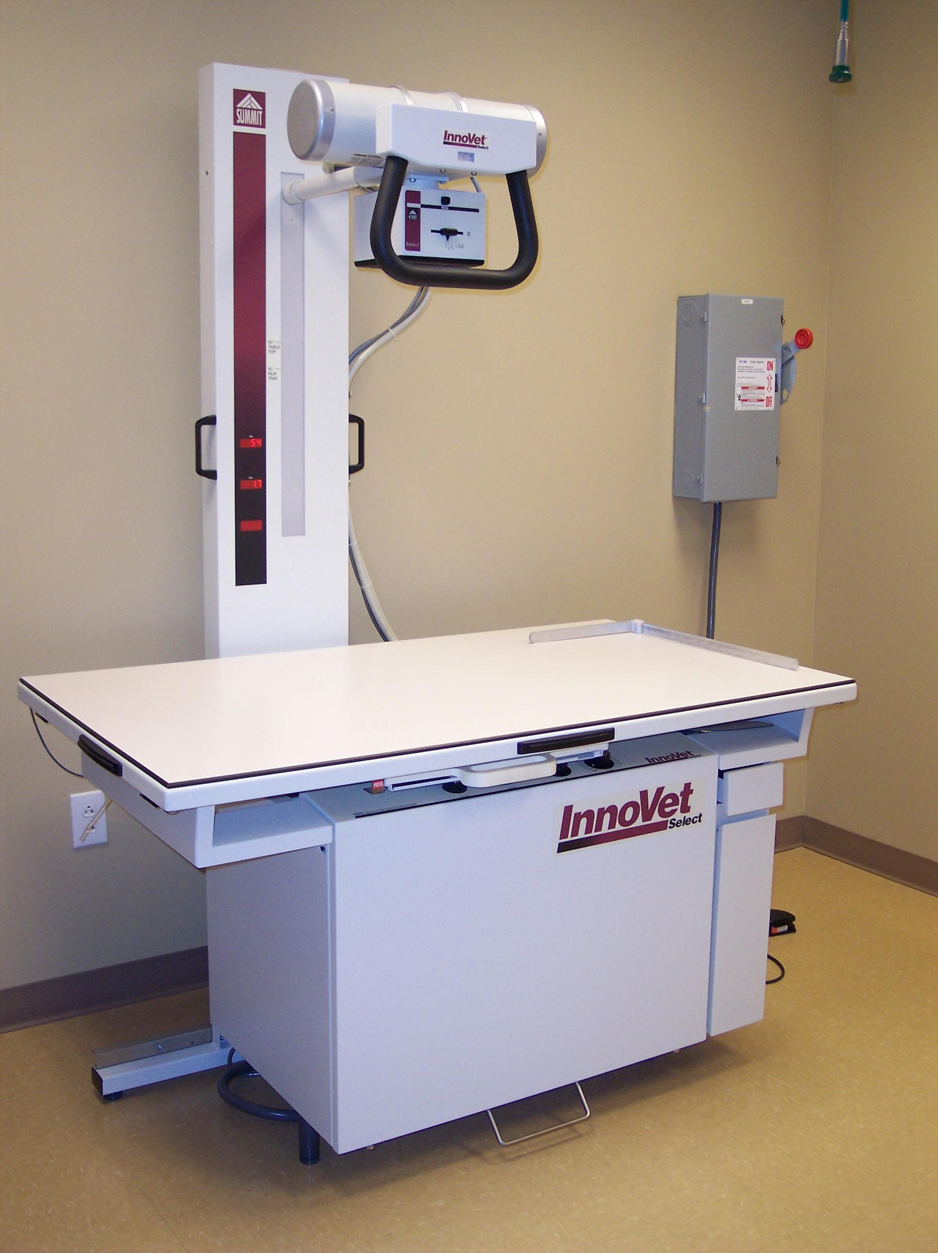 x machine hospital